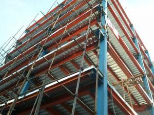 ساخت و نصب اسکلت فلزی و سوله