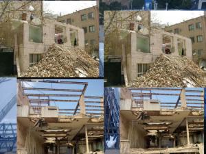 تخریب ساختمان تمام نقاط تهران